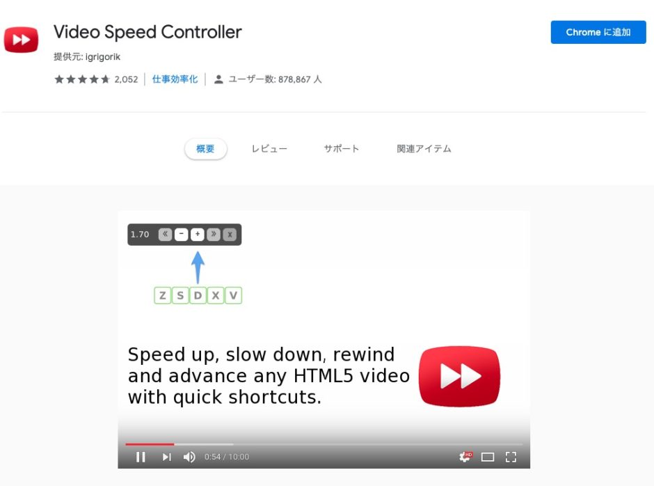 Video Speed Controller